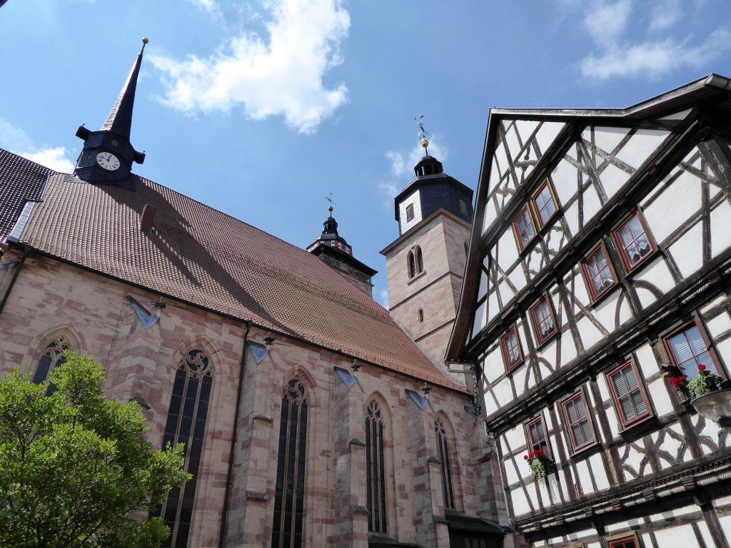 Chorfahrt 2018: Kirche in Schmalkalden