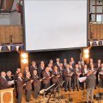 Der Männerchor beim Jubiläuumskonzert am 25.05.2018