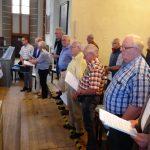 Chorfahrt 2018: Auftritt im Gottesdienst